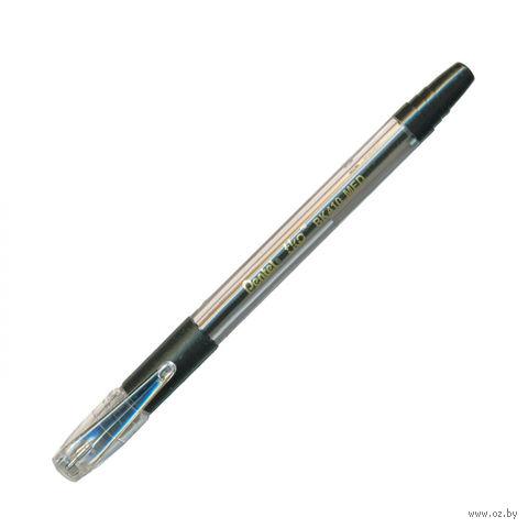 """Ручка шариковая """"BK410"""" (прозрачная/черная)"""