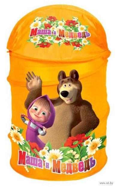 """Корзина для игрушек """"Маша и Медведь"""" (арт. XDP-1792-R)"""