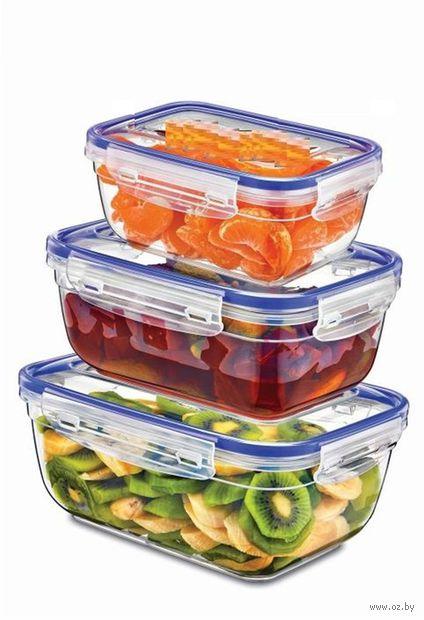 Набор контейнеров для продуктов (3 шт.; 400/800/1400 мл)