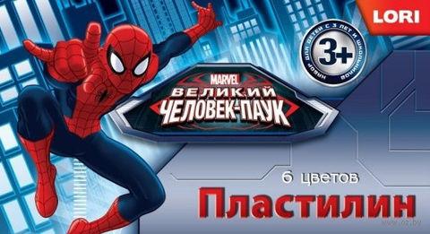 "Пластилин ""Marvel. Человек-паук"" (6 цветов)"