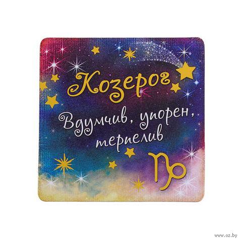 """Магнит пластмассовый """"Козерог"""" (8,5х8,5 см)"""
