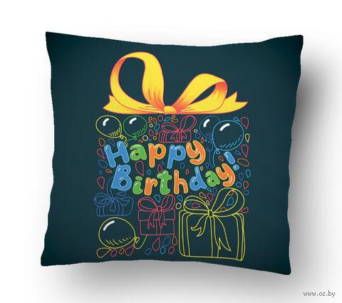 "Подушка маленькая ""Happy Birthday"" (art.20)"