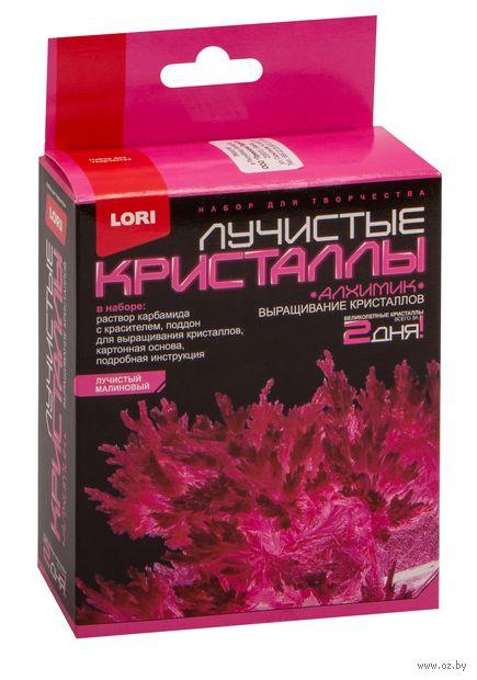 """Набор для выращивания кристаллов """"Лучистые кристаллы. Малиновый"""" — фото, картинка"""