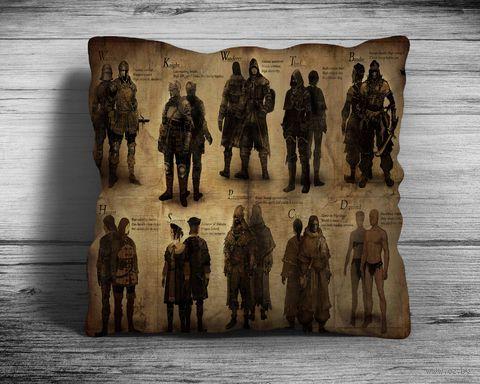 """Подушка """"Dark Souls"""" (арт. 6; 28х28 см) — фото, картинка"""