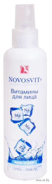 "Аква-спрей для лица ""Витамины"" (190 мл) — фото, картинка"