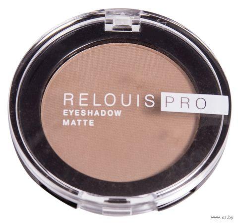"Тени для век ""Relouis Pro Eyeshadow Matte"" (тон: 12, warm taupe) — фото, картинка"