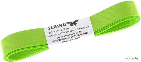 "Подарочная лента ""Stewo"" (ярко-зеленая; арт. 834126-46\STW) — фото, картинка"