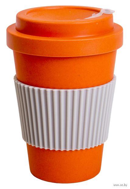 "Термокружка ""Muffin"" (оранжевая) — фото, картинка"