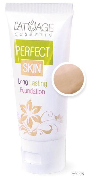 """Тональный крем для лица """"Perfect Skin"""" тон: 103, натуральный — фото, картинка"""