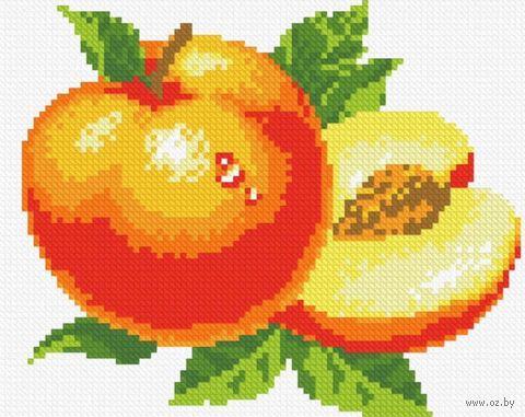 "Алмазная вышивка-мозаика ""Персик"" (230х180 мм) — фото, картинка"