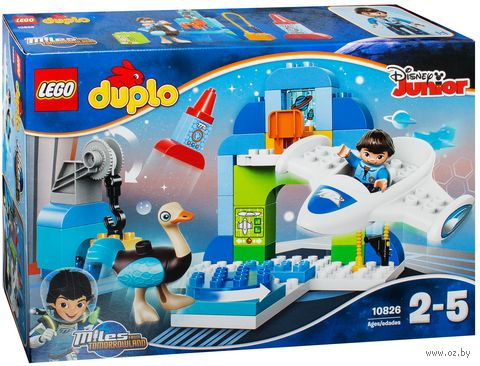 "LEGO Duplo ""Майлз и его ангар для Стеллосферы"""