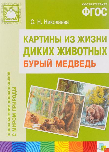 Бурый медведь. Картины из жизни диких животных. Светлана Николаева