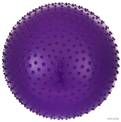 Мяч гимнастический массажный GB-301 (65 см; фиолетовый) — фото, картинка
