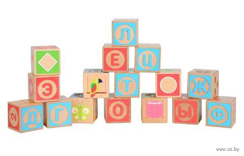 """Кубики """"Русский алфавит"""" (16 шт.; арт. LL249) — фото, картинка"""