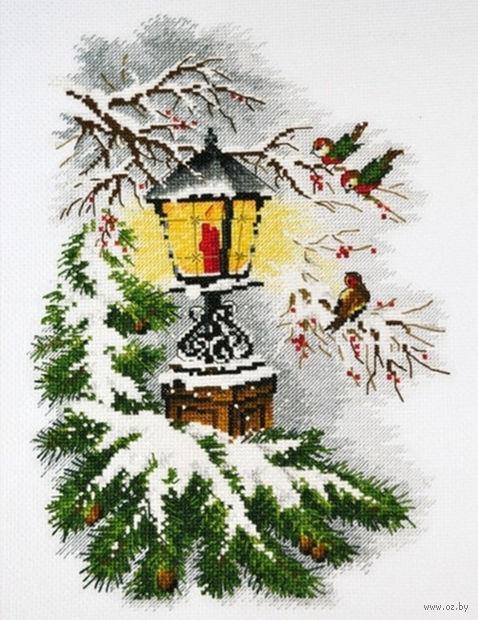 """Вышивка крестом """"Волшебный фонарь"""" (200x300 мм) — фото, картинка"""
