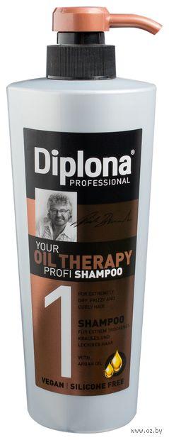 """Шампунь для волос """"Your Oil Therapy Profi"""" (600 мл) — фото, картинка"""