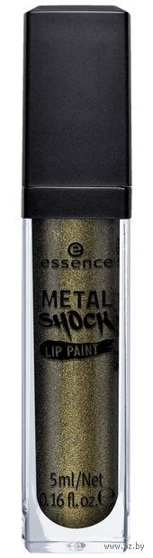 """Блеск для губ """"Metal Shock"""" (тон: 06, зеленый) — фото, картинка"""