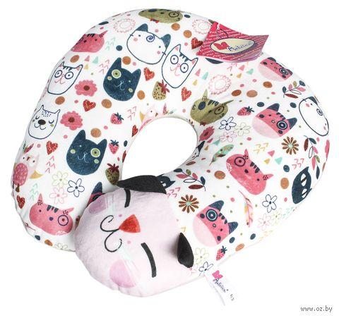 """Подушка """"Дорожный кот"""" — фото, картинка"""