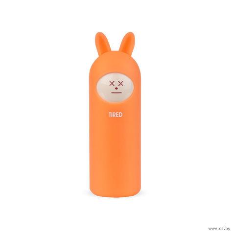 Портативное зарядное устройство Rombica Neo Rabbit Tired, NR-004T, Orange — фото, картинка