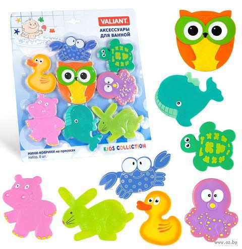 """Набор игрушек для купания """"Друзья совы"""" (8 шт.) — фото, картинка"""