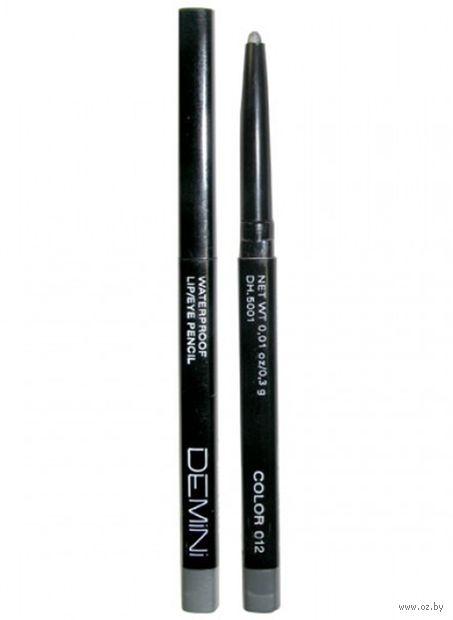 """Карандаш для глаз """"Waterproof Lip and Eye Pencil"""" водостойкий тон: 012 — фото, картинка"""