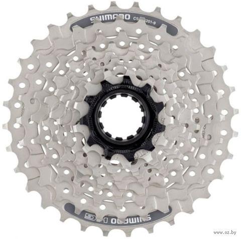 Кассета для велосипеда CS-HG201 (9 скоростей; звёзды 11-36) — фото, картинка