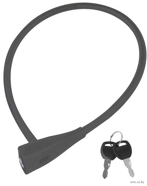 "Велозамок на ключ ""Silicone"" (65 см; арт. 48981) — фото, картинка"