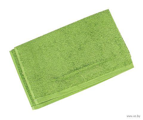 Полотенце махровое (40x70 см; зеленое) — фото, картинка