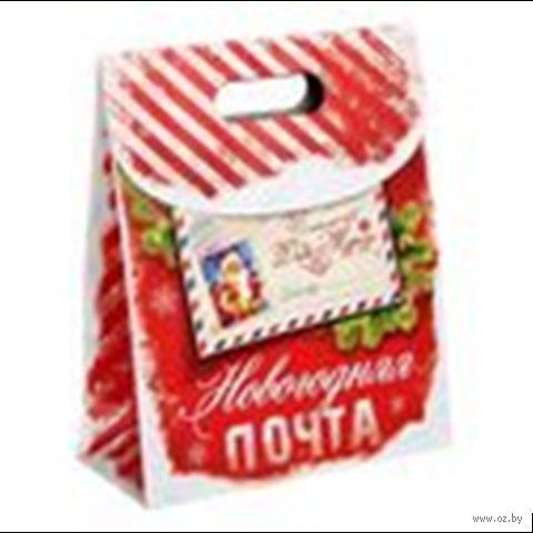"""Пакет бумажный подарочный """"Новогодняя почта"""" — фото, картинка"""