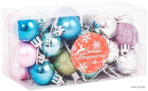 """Набор ёлочных шаров """"Новый год"""" — фото, картинка"""