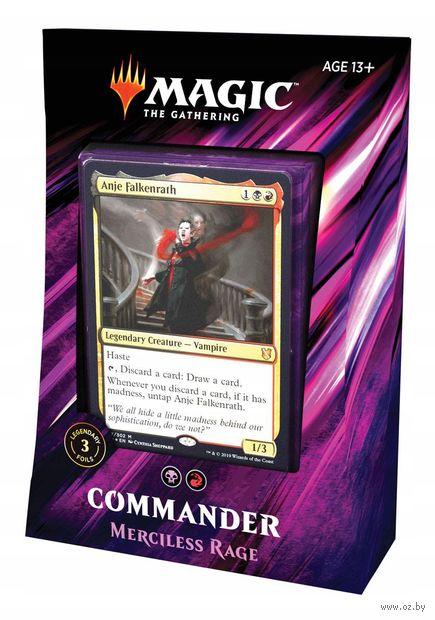 Magic the Gathering. Commander 2019. Merciless Rage — фото, картинка