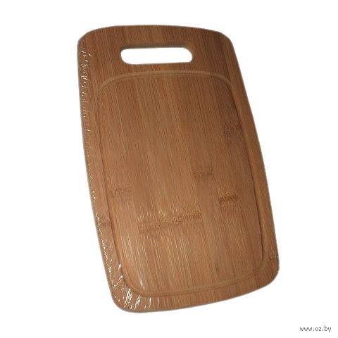 Доска разделочная бамбуковая (280х180х15 мм)
