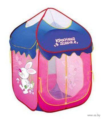 """Детская игровая палатка """"Красивый домик"""" (арт. Ф33610) — фото, картинка"""