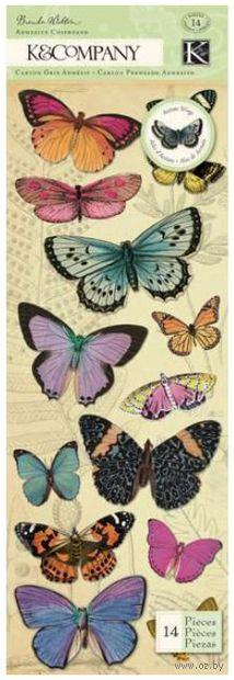 """Стикеры для скрапбукинга """"Флора и фауна. Бабочки"""" — фото, картинка"""