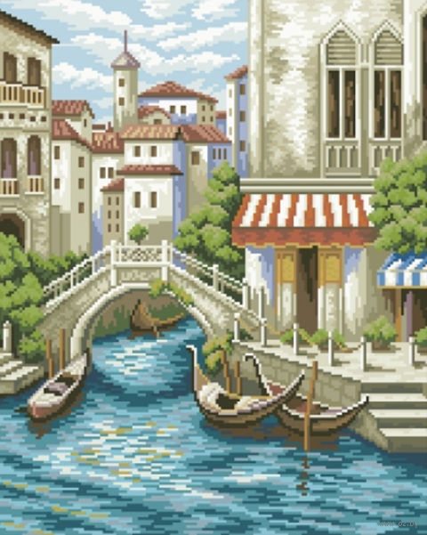 "Алмазная вышивка-мозаика ""Венеция"" (410х510 мм) — фото, картинка"