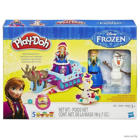 """Набор для лепки """"Play-Doh. Холодное Сердце"""""""