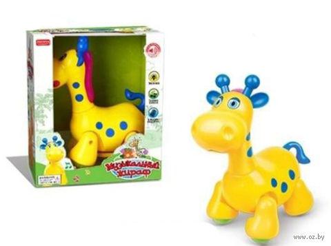 """Музыкальная игрушка """"Жираф"""" (со световыми эффектами)"""
