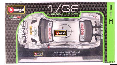 """Модель машины """"Bburago. Ралли DTM-Mersedes AMG C-Coupe"""" (масштаб: 1/32)"""