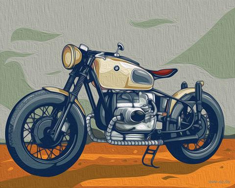 """Картина по номерам """"Мотоцикл BMW"""" (400х500 мм) — фото, картинка"""