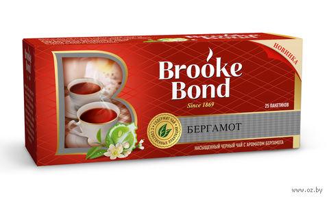 """Чай черный """"Brooke Bond. Бергамот"""" (25 пакетиков) — фото, картинка"""
