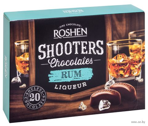 "Конфеты ""Shooters. Rum"" (150 г) — фото, картинка"