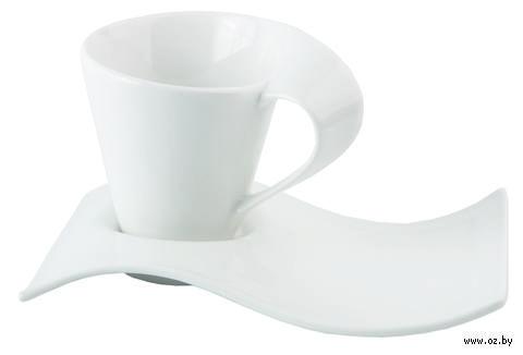 Чайная пара фарфоровая (2 предмета; 160 мл)