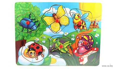 """Рамка-вкладыш """"Веселые насекомые"""""""