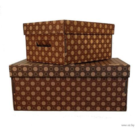 "Набор коробок ""Kardeco"" (2 шт.; коричневый) — фото, картинка"