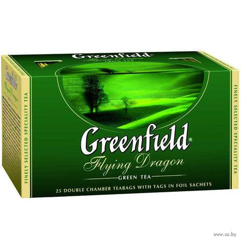 "Чай зеленый ""Greenfield. Flying Dragon"" (25 пакетиков) — фото, картинка"