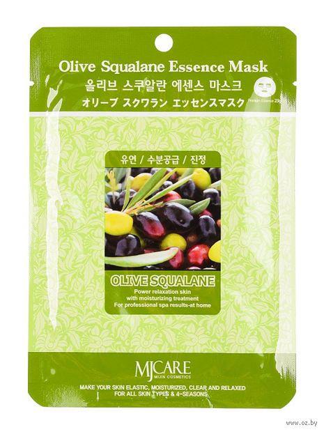"""Тканевая маска для лица """"Олива"""" (23 г) — фото, картинка"""
