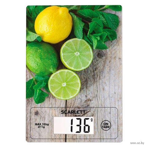 Кухонные весы Scarlett SC-KS57P21 — фото, картинка