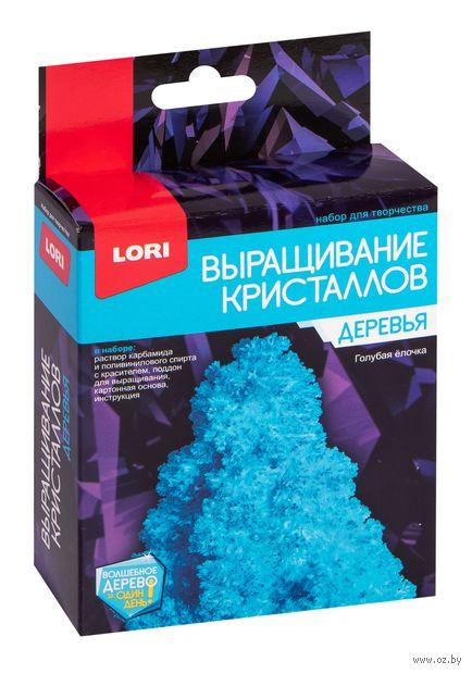 """Набор для выращивания кристаллов """"Голубая ёлочка"""" — фото, картинка"""