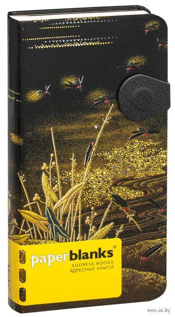 "Алфавитная книга Paperblanks ""Хотару"" (формат: 95*180 мм, слим)"