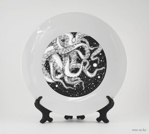 "Тарелка ""Осьминог"" (197)"